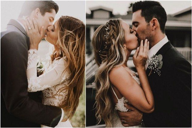 [tps_header] Your first kiss as husband and wife may be the most important public kiss of your life. It is said that a picture is worth a thousand words. But how many words are there in a picture of true love?a milli...