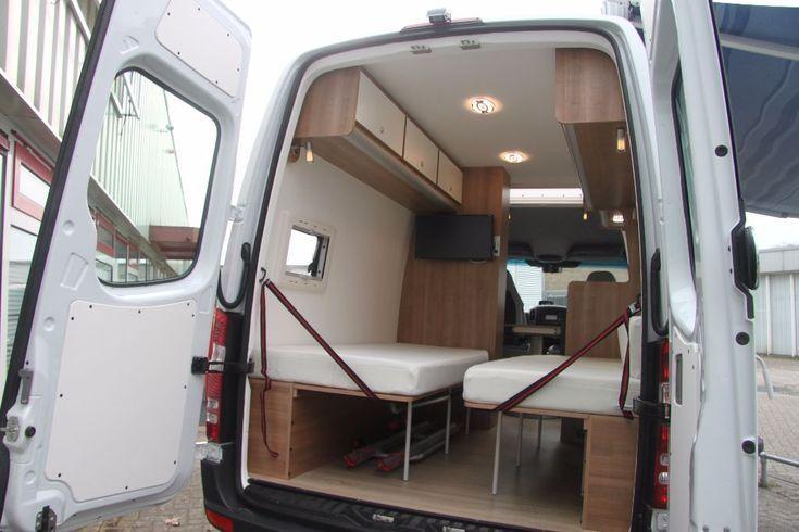 Mercedes Sprinter Buscamper L2h2 Automaat 2016 2013 Afgeleverd Mercedes Camper Custom Camper Vans Mercedes