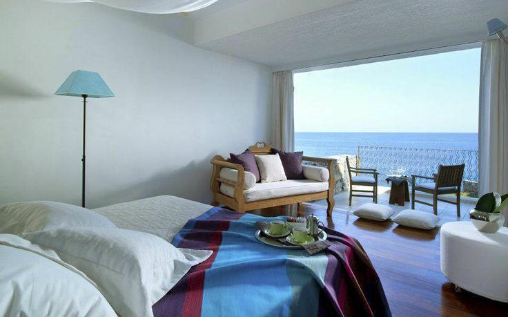Hotel St Nicolas Bay Resort 5* en Aghios Nikolaos de la Isla de Creta #Grecia #Hoteles #diseño #decoración