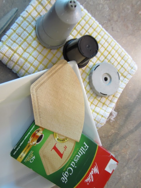 Love your Kuerig?  Here's how to filter your reusable K-cup for easy clean-up