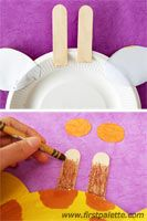 Step 7 Paper Plate Animals craft