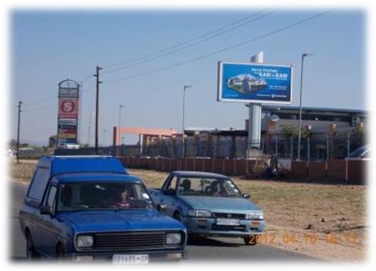 Diepsloot Mall.    Cnr. William Nicol Drive & Mbuyisa Makhubu Street, Diepsloot West, Ext 7, travelling south on William Nicol  Drive (R511)