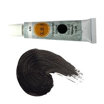 Ногти :: Акриловые краски :: Акриловая краска №2 YRE черный 12 мл. Acrylic paint is fast drying paint containing pigment suspension in acrylic polymer emulsion.