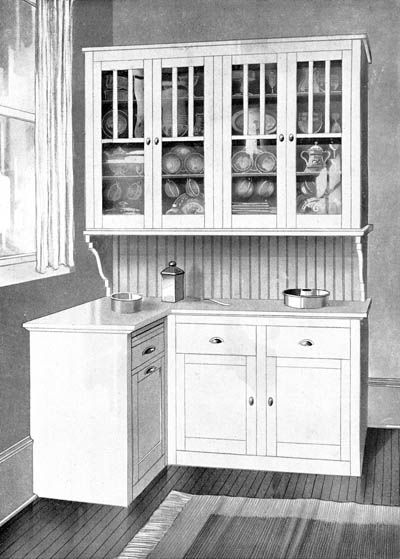 Arts and crafts period kitchen cabinets home kitchen for Period kitchen cabinets