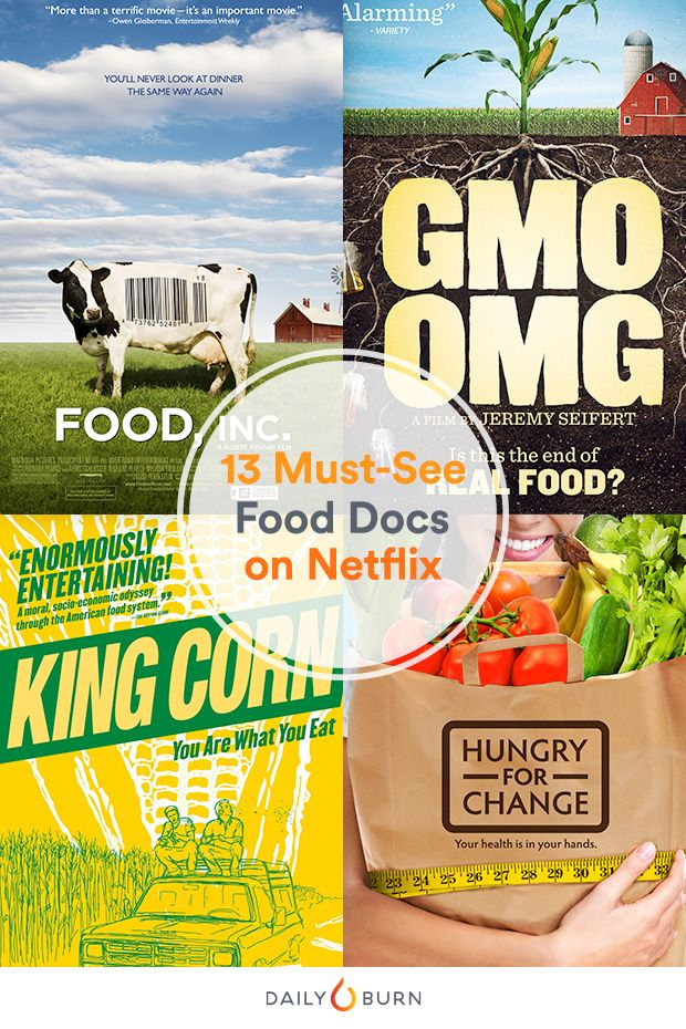 From GMOs to sugar, these groundbreaking food documentaries capture an unfiltered look at the food industry, and how it directly affects our health. via @dailyburn