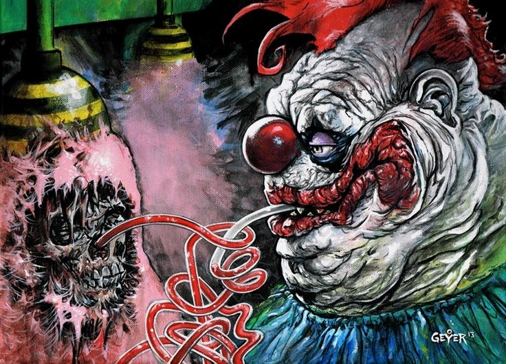 1000 images about clown on pinterest digital art for Return of the killer klowns from outer space