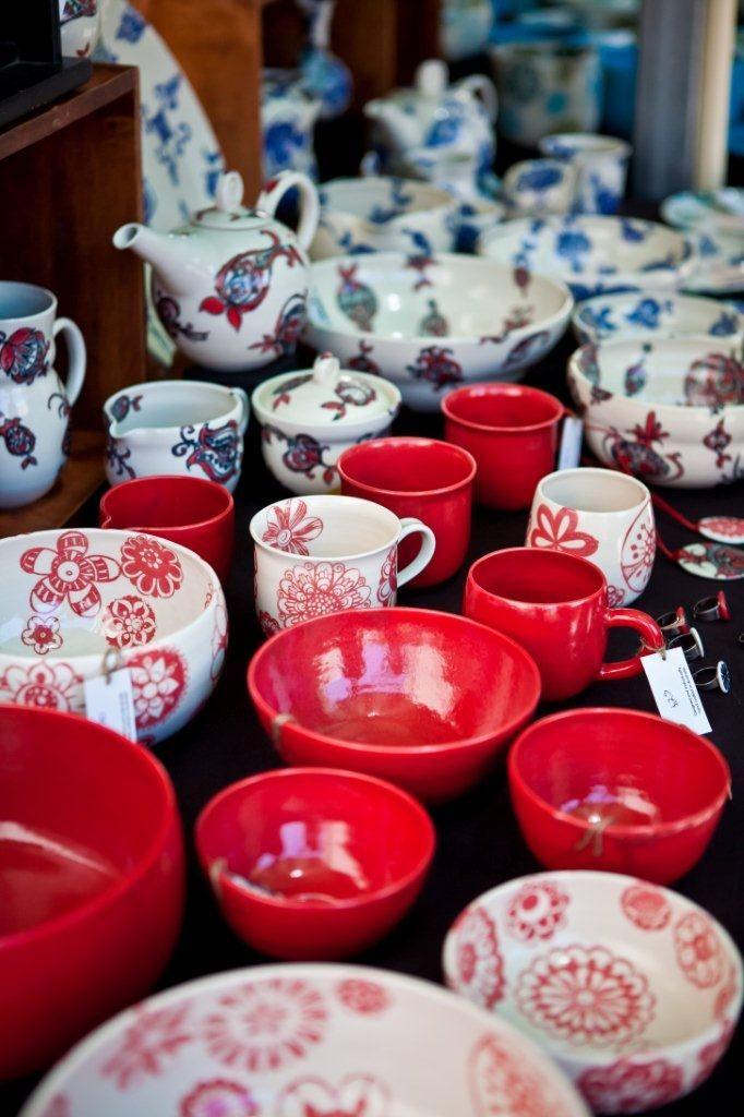 Spun Mud ceramics - love it