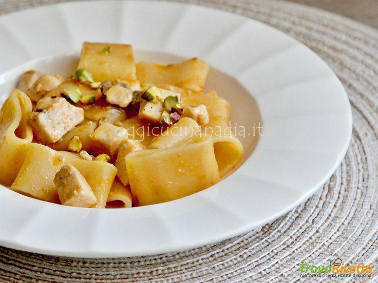 Calamarata con pesce spada e pistacchi – Ricetta primo piatto  #ricette #food #recipes
