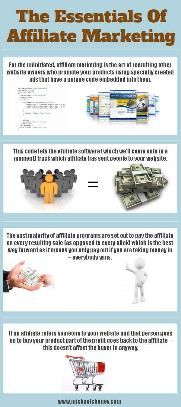 The Essentials Of Affiliate Marketing / For more work at home ideas, check out http://dorthy.org