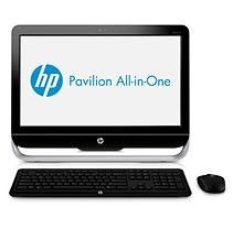 "HP Pavilion 23-B320 23"" Desktop Computer, AMD E2-2000, 6GB Memory, 500GB Hard Drive"