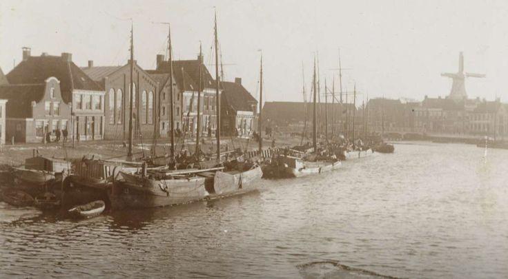 Harlingen - Zuiderhaven - circa 1900