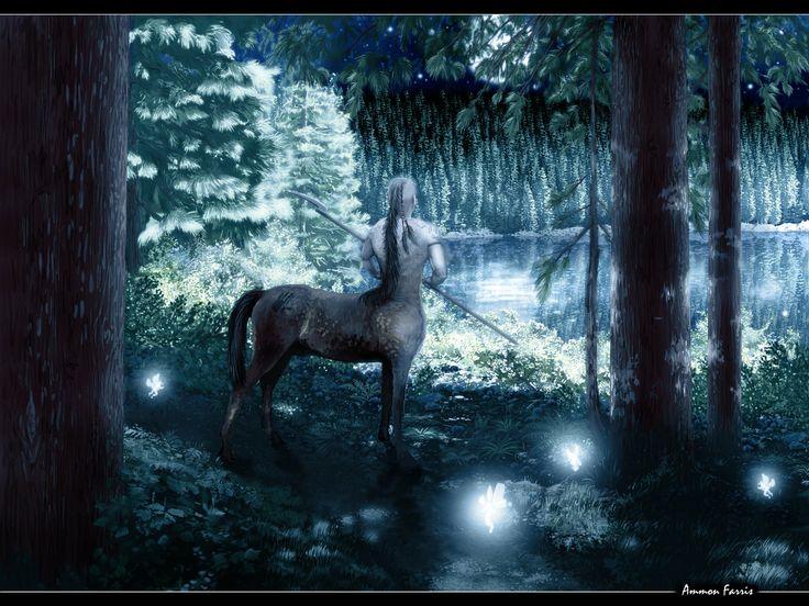 Moonlight Centaur by ~lifebytes on deviantART