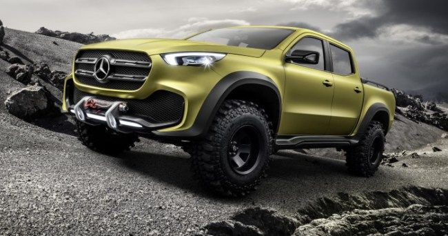 Mercedes-Benz X Class Concept, The Luxury Pickup For Posh People :http://gossfeed.com/2016/10/26/mercedes-benz-x-class/