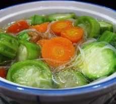 Resep Sup Oyong dan cara membuat | BacaResepDulu.com