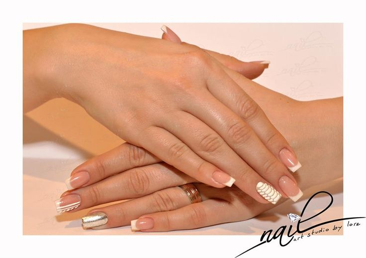 nails nail art trend 2015 manicure french nailart reptile white