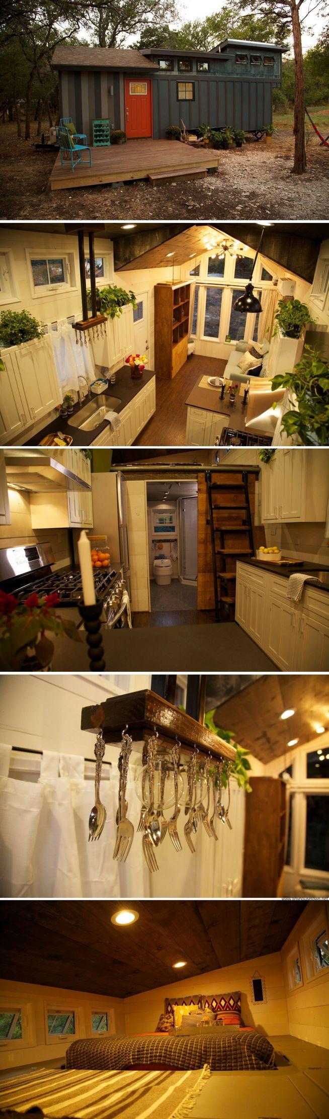 The World Traveler tiny house (250 sq ft)
