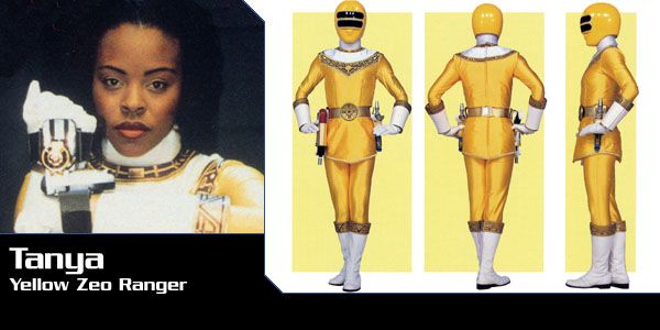 Tanya Sloan (Zeo Ranger II - Yellow) - Power Rangers Zeo | Power Rangers Central