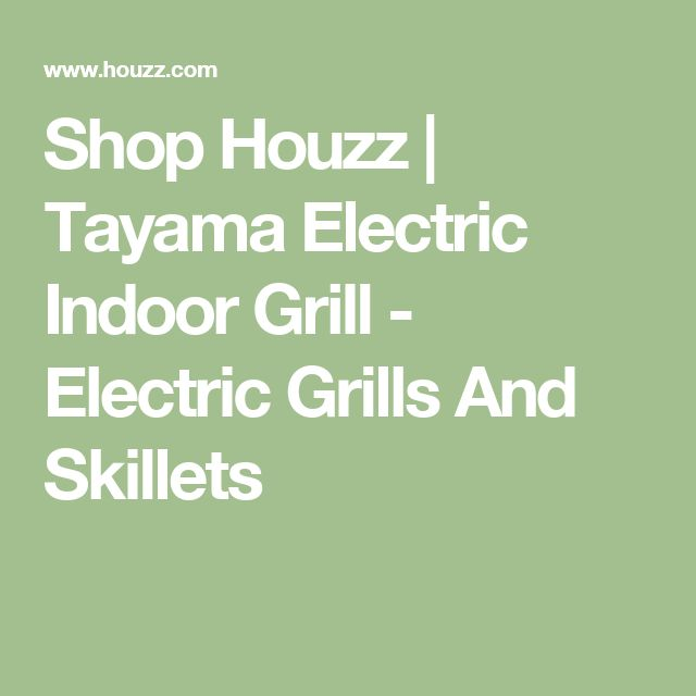 Shop Houzz   Tayama Electric Indoor Grill - Electric Grills And Skillets
