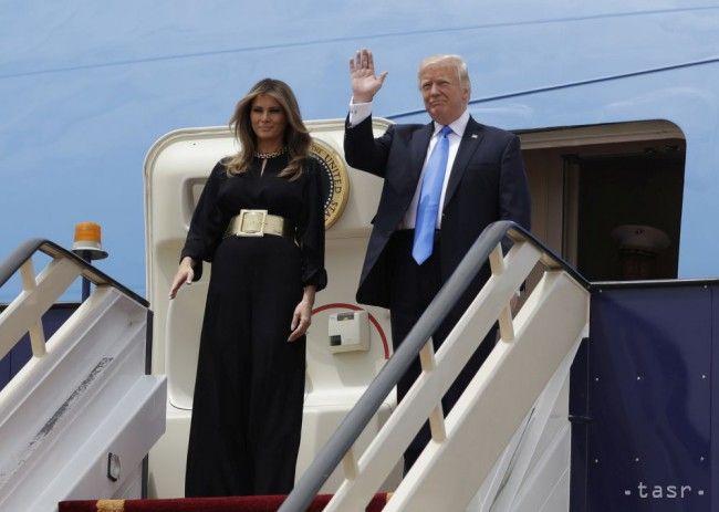 Trump začal svoju prvú zahraničnú cestu v Saudskej Arábii - Zahraničie - TERAZ.sk