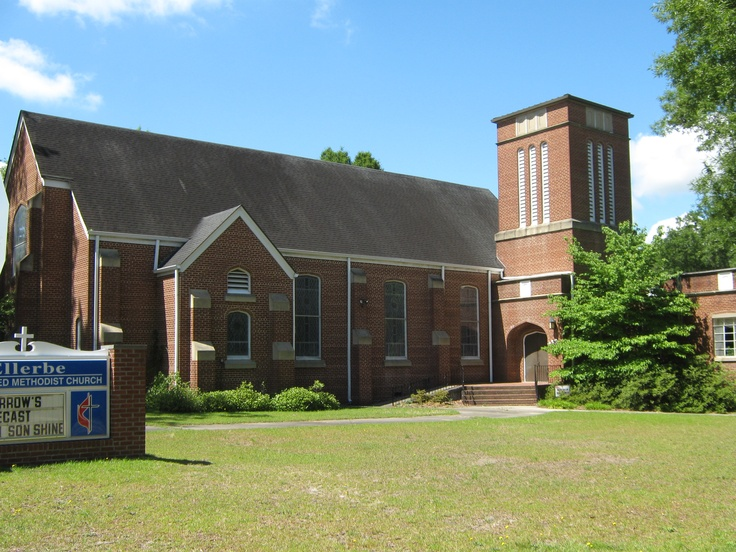 First United Methodist Church in Ellerbe has a membership of the sweetest, most loving people in the world!