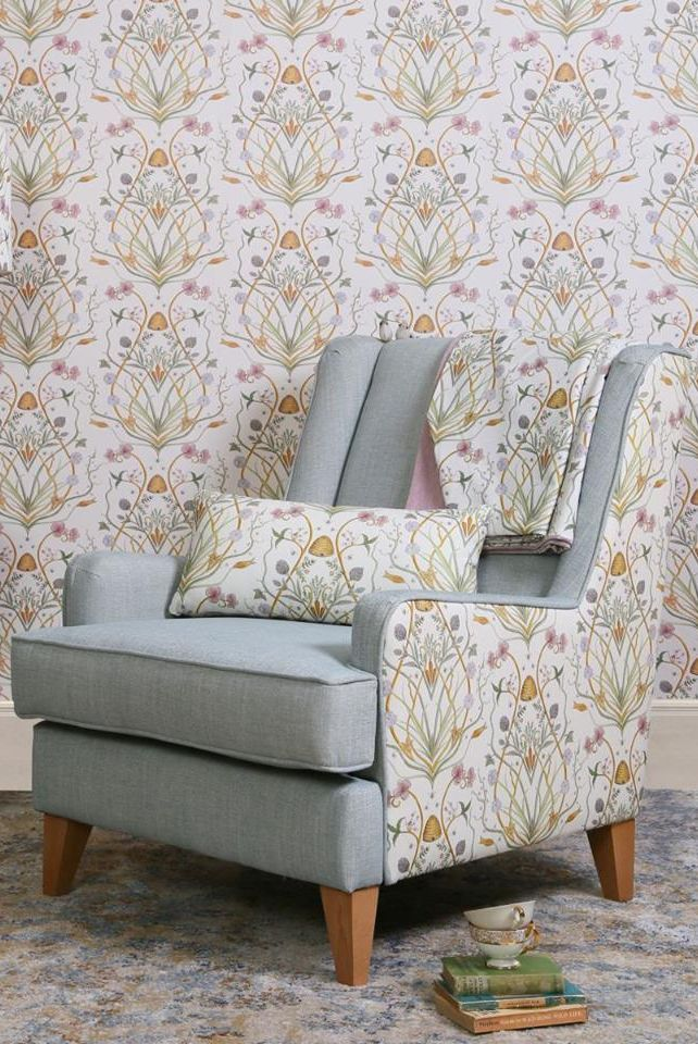 Potagerie By The Chateau By Angel Strawbridge Multi Coloured Wallpaper Wallpaper Direct Angel Strawbridge Home N Decor Guest Bedrooms