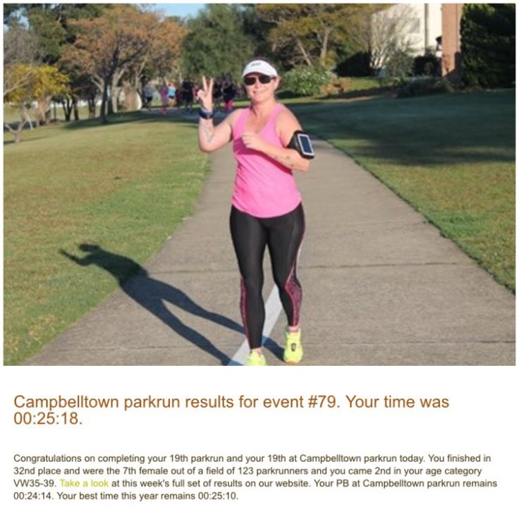 parkrun.. Took it easy, and finished strong!!