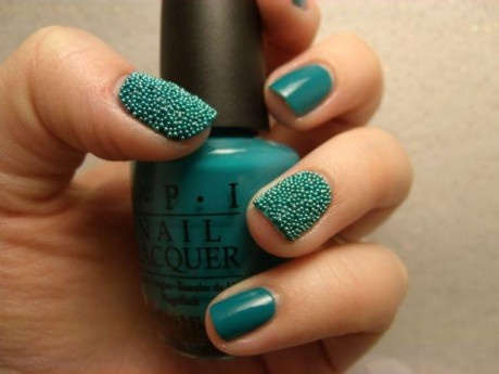 Latest caviar nail