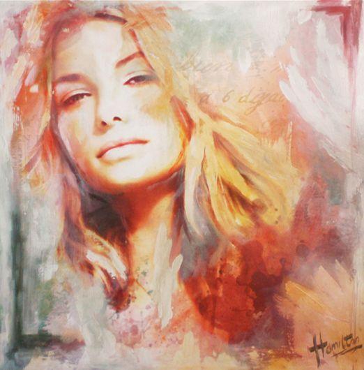 Evelyn Hamilton - kunstschilder en portretschilder