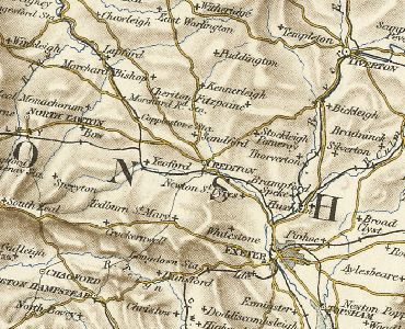 Links to excerpt from 1887 gazetteer which briefly describes Crediton - source: www.visionofbritain.org.uk