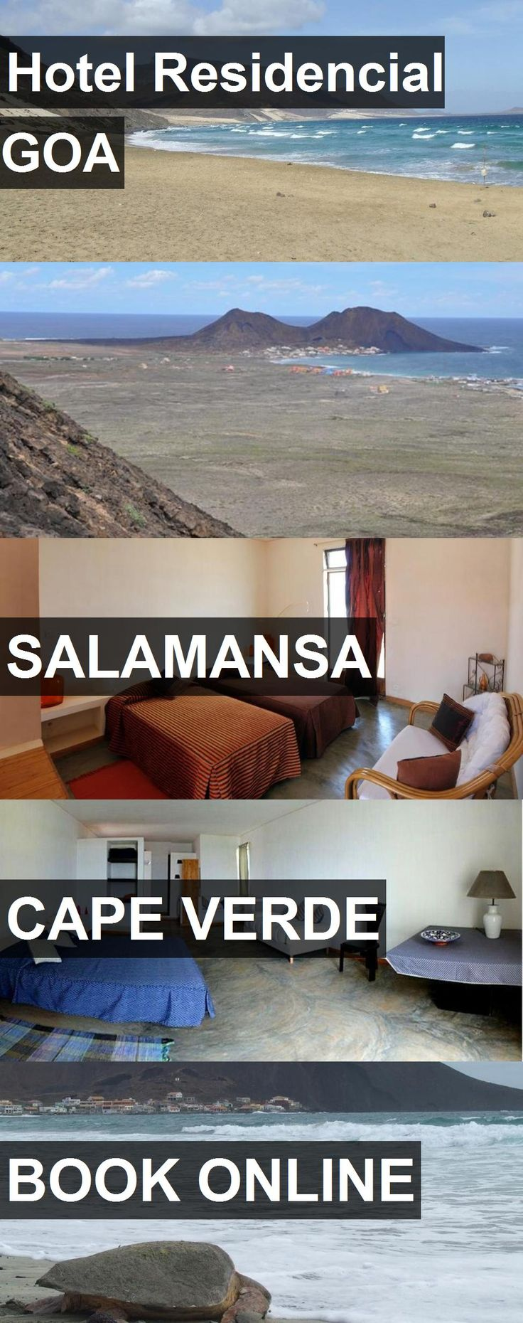 Hotel Residencial GOA in Salamansa, Cape Verde. For more information, photos, reviews and best prices please follow the link. #CapeVerde #Salamansa #travel #vacation #hotel