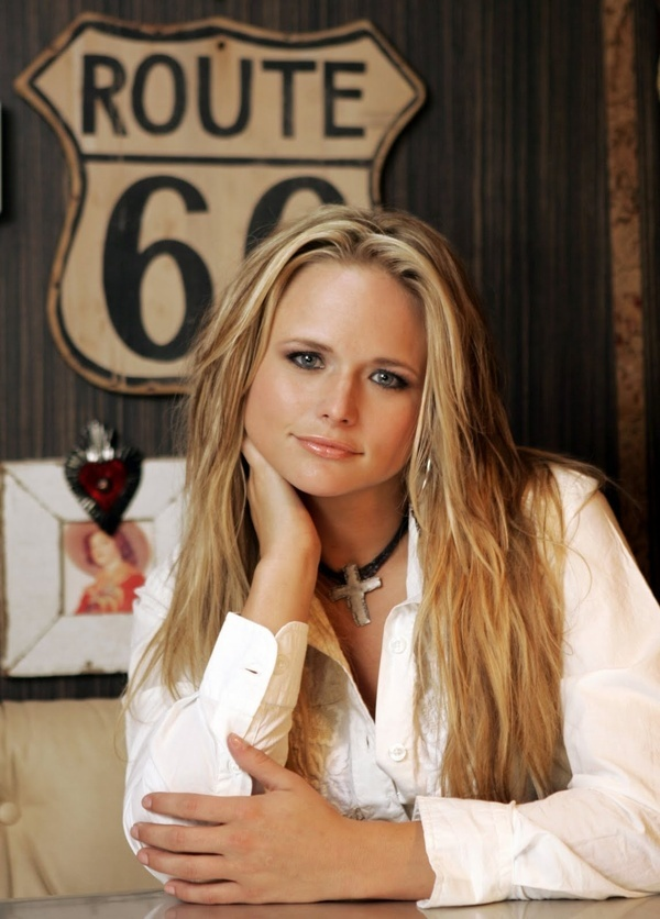 Miranda Lambert: I don't know much about country music, but I've heard some if her songs and they're awesome.