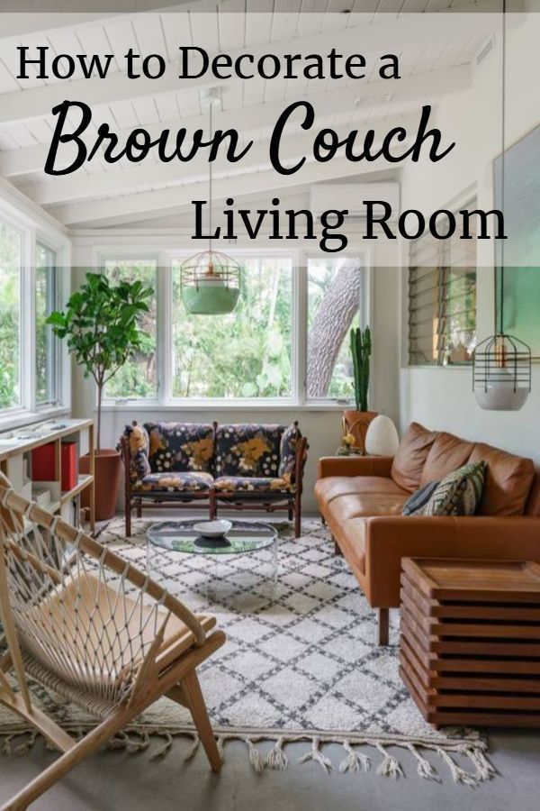 15 Living Room Color Schemes With Brown Leather Furniture Brown