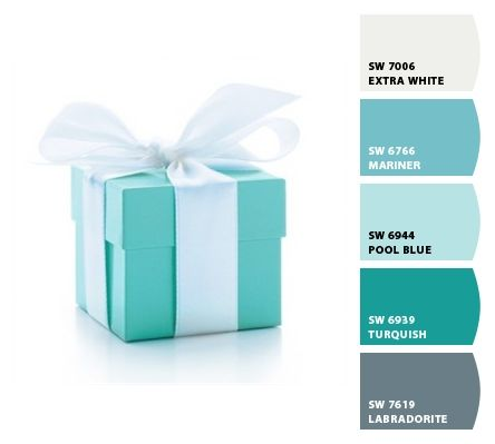 Chip It By Sherwin Williams Tiffany Blue Design