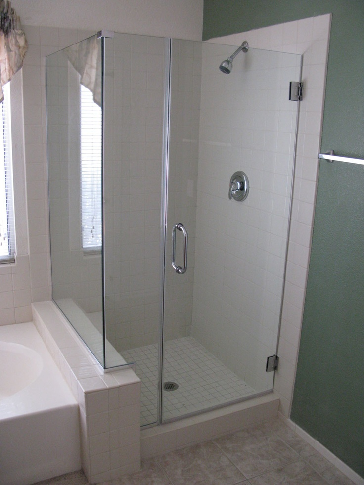 fiberglass shower enclosures shower by a cutting edge glass custom frameless