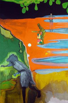 Peter Doig Cricket Painting Paragrand