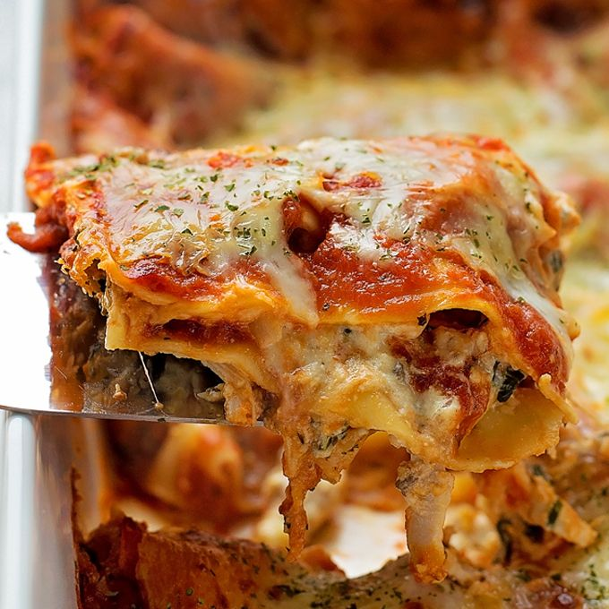 Insanely Good Chicken Lasagna - Life Made Simple