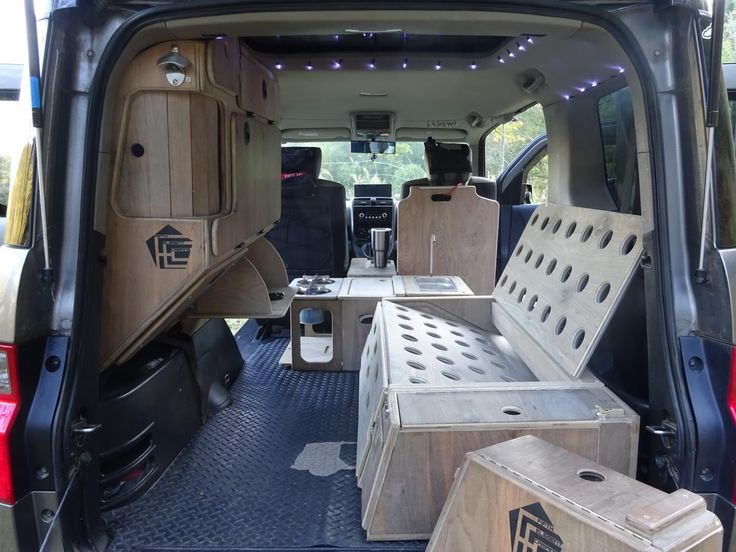 Outstanding Honda Element Ecamper w/ custom interior