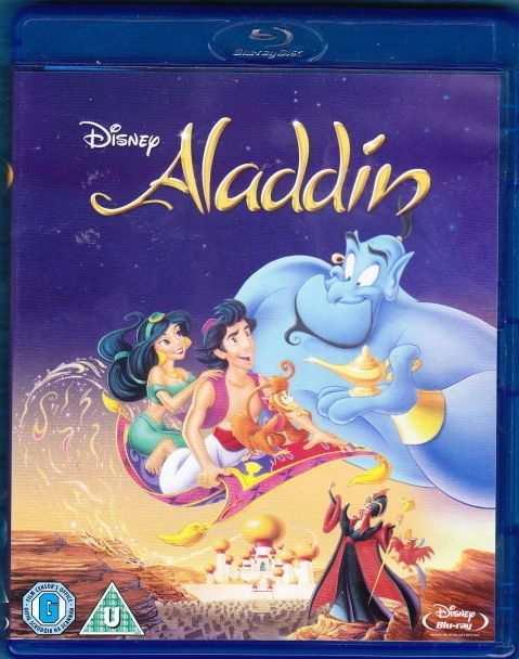 Aladdin Blu-ray Disc 2013 Disney Robin Williams