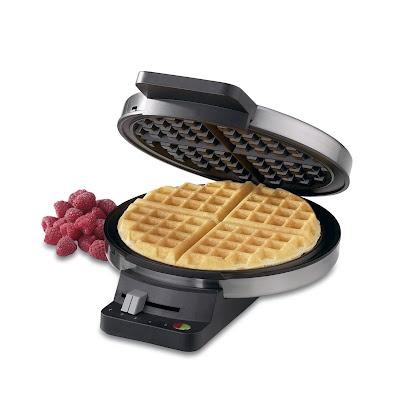 Waffles for Easter breakfast