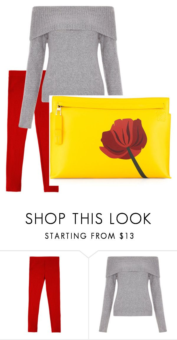 """#3.2 2цвета"" by olesya-garifulina on Polyvore featuring New Look and Loewe"
