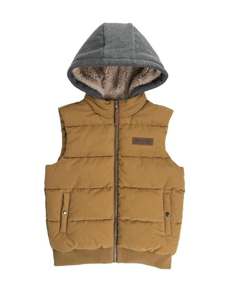 Hooded Gilet Jacket
