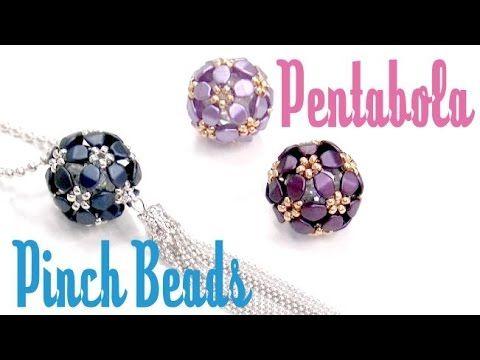 Tutorial de como construir una pentabola con las Pinch Beads. Este tutorial es apto para personas con experiencia con abalorios....o para no expertos atrevid...
