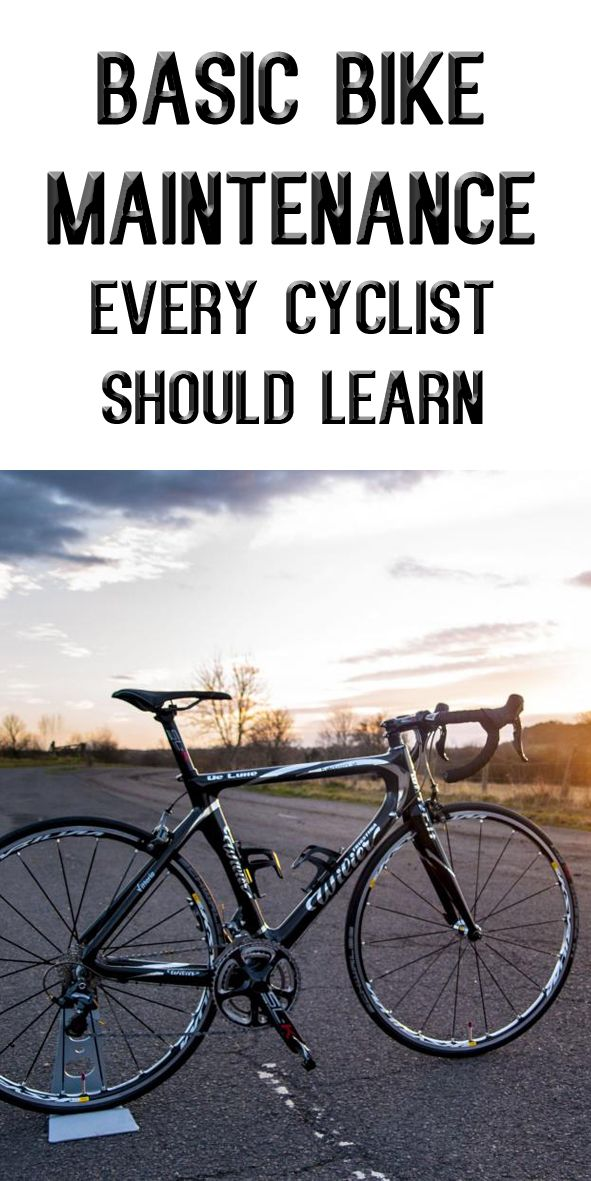 BASIC BIKE MAINTENANCE EVERY CYCLIST SHOULD LEARN: http://thecyclingbug.co.uk/how-to/b/videos/archive/2014/01/24/how-to-do-a-basic-bike-maintenance-check.aspx?utm_source=Pinterest&utm_medium=Pinterest%20Post&utm_campaign=ad #cycling #bike #bicycle #maintenance