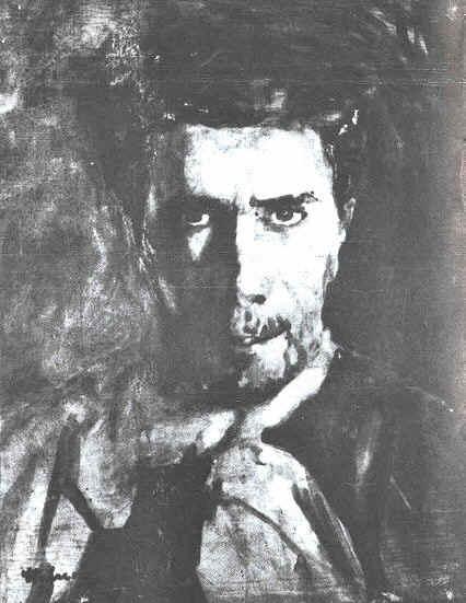 Stefan Luchian: Self-Portrait 1908