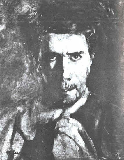 Stefan Luchian: Self-Portrait 1908
