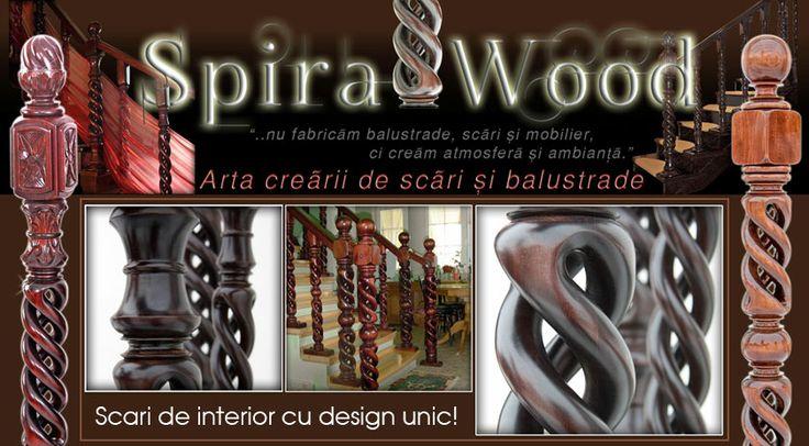 SpiralWood - Want something unique? http://www.proiectcasa.ro/produse-firme/sculptura-secuiasca-spiralwood/scara-interior-cu-stalp-intermediar-tip-spirala-sculptat