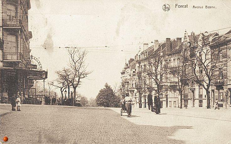 L'avenue Besme vers 1905.