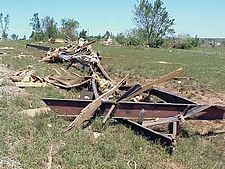 The 1999 Oklahoma tornado outbreak was a vigorous severe weather event that lasted from May 3 until May 6, 1999 and brought violent tornadic storms to Oklahoma, Kansas, Arkansas, Texas, and Tennessee. This article concentrates primarily on the events of May 3, when 66 tornadoes broke out in Oklahoma and Kansas.  The most significant tornado first touched down southwest of Chickasha, Oklahoma, and became an F5 before dissipating over Midwest City, Oklahoma.
