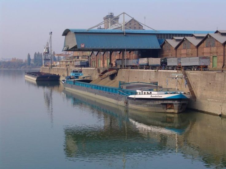 Port of Csepel in Budapest, Hungary