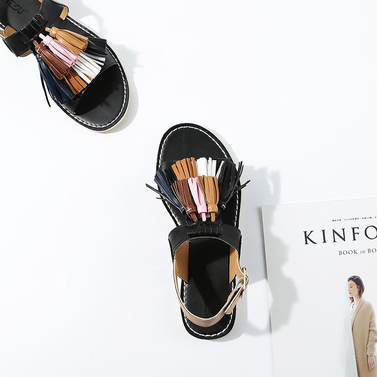 """✔ ✔ ✔ $24.50,  Women's Fringed Trim Flat With Sandals Use code """"LADYSTO"""" to get 15% OFF & one FREE chic socks. from @ladystoofficial.... ✔ ✔ ✔ Brogues 2017 Clothes Top Brian Atwood Boat Shoes Life Michael Kors Lace Up Website Link Unique Gifts Best Walking Shoes Cowboy Boots Jogger Pants Justin Adidas Lacoste Vector Hats Shirts Work Western Born Macys Boots Harley Davidson Booties Trends Gym Asics Sweaters Cheap Shoes Slip On Hot Yoga Pants Wedges Dress ✔ ✔ ✔ @ladystoofficial #ladysto"""